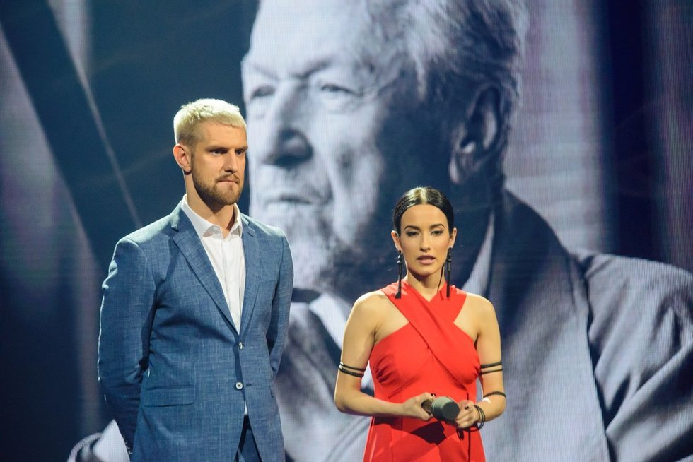 """""""Eurovizijos"""" nacionalinės atrankos antrojo pusfinalio transliacija (nuotr. Eimanto Genio)"""