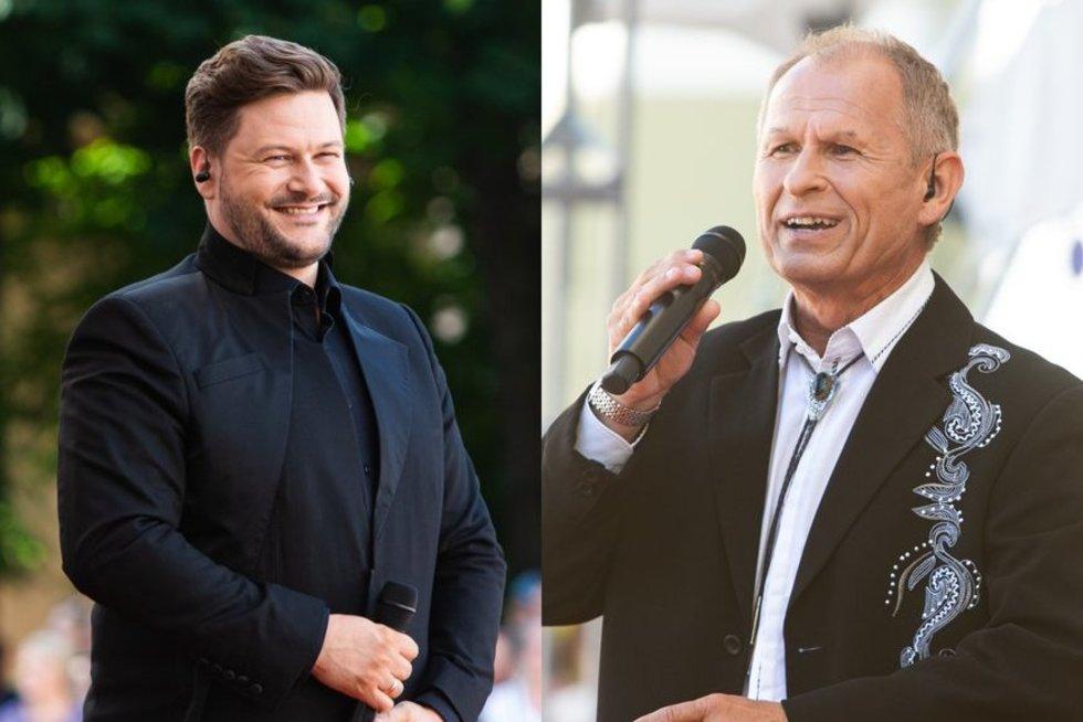Daukanto aikštėje – šventinis koncertas: renkasi gerai žinomi veidai (tv3.lt fotomontažas)