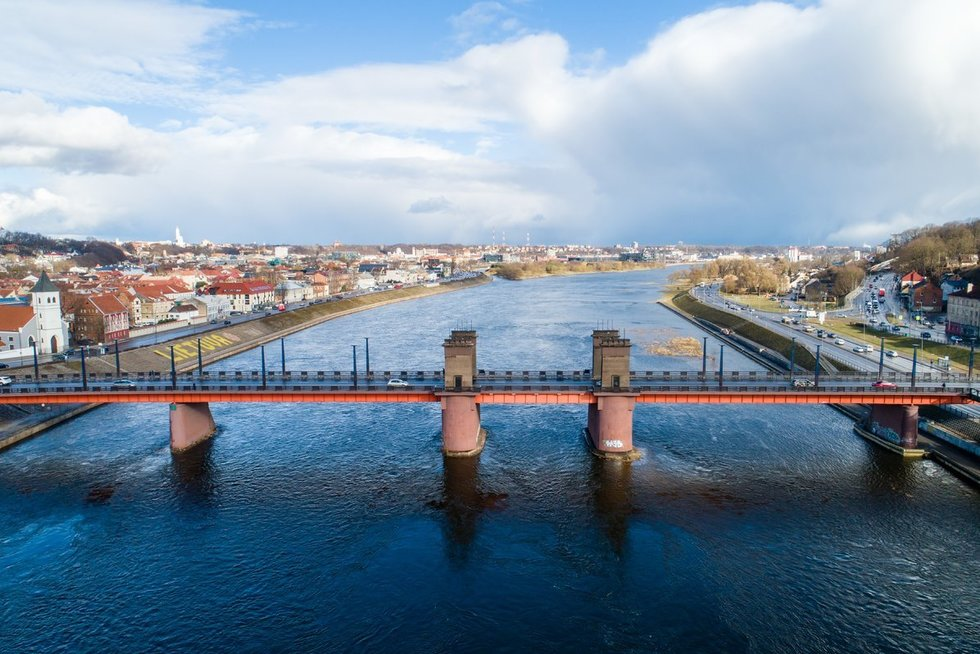 Kauno Aleksoto tiltas (Teodoras Biliūnas/Fotobankas)