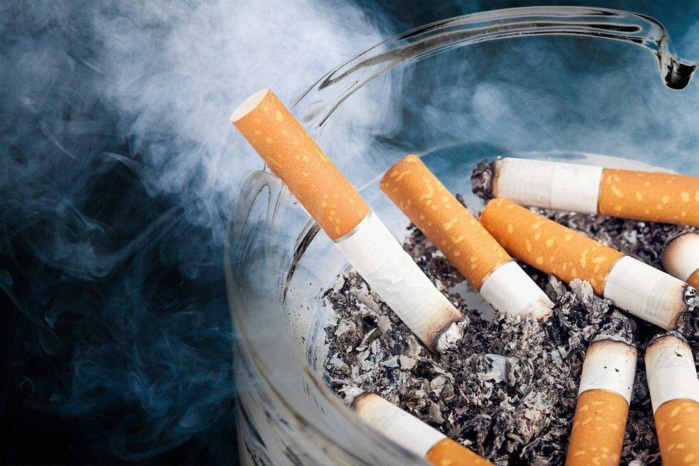 Rūkymas (nuotr. Fotolia.com)