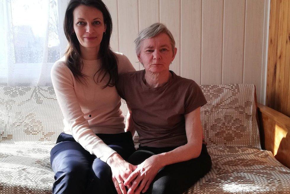 Dalia Alė ir Judita Kliūčienė. Lauros Auksutytės nuotr.