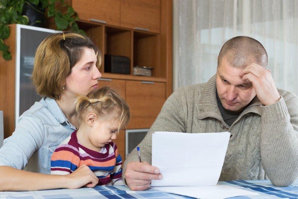Dėl vokeliuose gautų atlyginimų paskolos būstui negaunantys gyventojai gali kreiptis į VMI