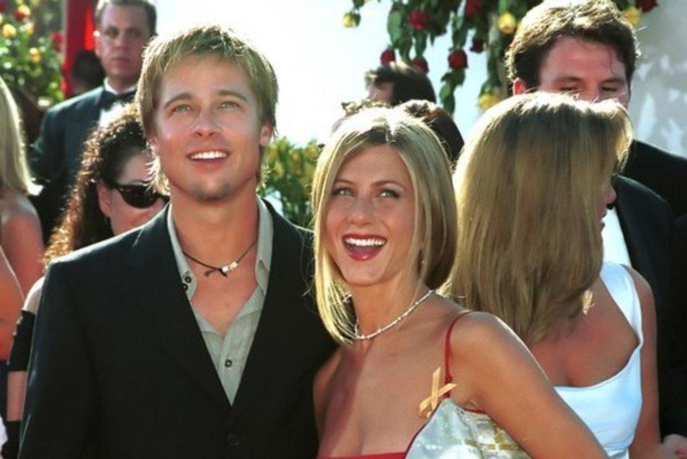 Brad Pitt ir Jennifer Aniston (nuotr. Vida Press)