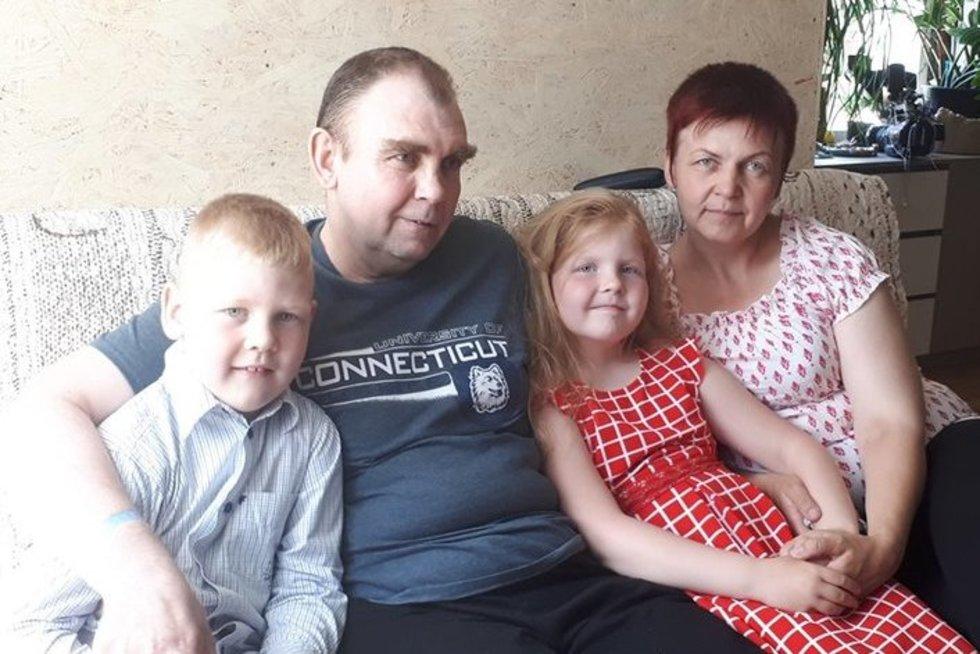 Antano šeima  (nuotr. asm. archyvo)