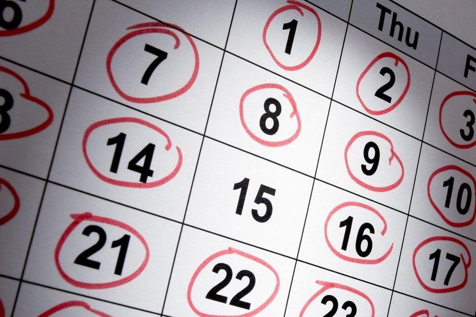 Usi Calendar.Kuria Savaitės Diena Gimėte Jus Tai Atskleis Koks Zmogus Esate