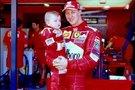 Melaginga Michaelio Schumacherio ir jo sūnaus Micko nuotrauka (nuotr. asm. archyvo)