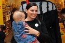 Renata Šakalytė - Jakovleva su dukrele (nuotr. Fotodiena.lt)