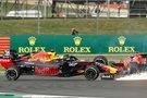 Maxas Verstappenas ir Sebastianas Vettelis (nuotr. SCANPIX)