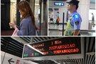 Apsilankė Nandzingo metro: nustebino pareigūnų geranoriškumas ir pavyzdinė švara (nuotr. Juozo Skaros)
