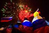 Už prisijungimą prie Rusijos – vos 96,6 proc. Krymo gyventojų