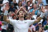 Andy Murray ir Tomašas Berdychas taip pat žais Vimbldono teniso turnyro pusfinalyje