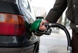 Naftai pingant, kuro kainos vartotojų netenkina