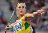 Sensacija: Europos čempionate medalį iškovojo Lietuvos ieties metikė