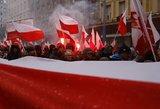Lenkijoje minima Nepriklausomybės diena – organizuotos eisenos, atidaryta bažnyčia