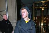Bieberis atrodo it nesavas: liūdesys ir smarkiai išbertas veidas