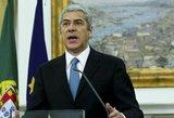 Sulaikytas buvęs Portugalijos premjeras J. Socratesas