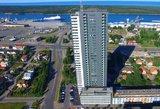 Šokas Klaipėdos dangoraižyje: žmonės pasakoja, kaip liftas krito iš 15-o aukšto