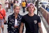 Naujausi J. Bieberio ir jo sužadėtinės kadrai pribloškė: paviešinta itin intymi akimirka