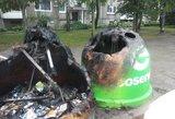 Sugadinti konteineriai kasmet padaro dešimčių tūkstančių eurų žalos