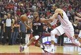 """""""Rockets"""" – pirmoji NBA Vakarų konferencijos finalo dalyvė"""