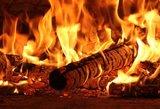 Šalčininkų rajone neblaivus sūnus, įtariama, padegė motinai priklausantį ūkinį pastatą