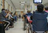 Pablogėjus sveikatai, senolei vietos ligoninėje nerado