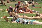 Mušami karščio rekordai: nuo nematytos krušos iki be vandens likusių kauniečių
