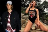 """J. Bieberio """"eks"""" – tikra diva: tokių kūno formų pavydėtų kiekviena"""