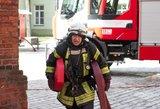 Klaipėdoje ugniagesiai išgelbėjo benamį