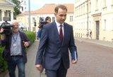Rokas Masiulis po susitikimo su Nausėda: ministrai yra ant parako statinės