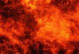 Vilniuje rytą įsiplieskė du ūkiniai pastatai