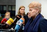 Dalia Grybauskaitė aiškinsis, kaip ginami Lietuvos vaikų interesai