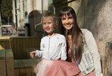 Sveikos gyvensenos renginyje V. Montvydienė pasirodė su dukrele: sužavėjo savo stiliumi