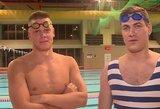 Netikėta dvikova: Jankevičius metė iššūkį plaukimo čempionui Rapšiui