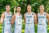 Lietuvos 3x3 krepšinio rinktinė išvyko į Pasaulio čempionatą