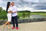 Pirmasis sutuoktinių šokis: Greta Lebedeva pasidalijo pasakiška vestuvių akimirka