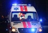 Neblaivaus vairuotojo gaudynių kaina – sužeistas keleivis