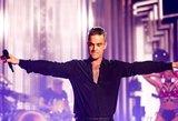 """Robbie Williamsas surengs pasirodymą """"The BRITs"""" apdovanojimų ceremonijoje"""