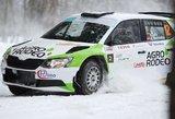 """""""Winter Rally"""" trasos gerokai apdaužė ralio dalyvių techniką"""