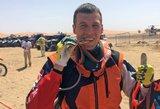 """Varžovų protestai nepadėjo – Gelažninkas triumfavo """"Tuareg"""" ralio maratone"""
