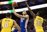 NBA lygoje – trigubas 21-erių naujoko dublis