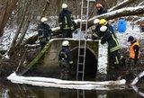 Po didelės avarijos Vilniaus aplinkkelyje tenka gelbėti Neries upę