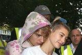 Karštas Bieberių bučinys įaudrino gerbėjus: tortas ant veido meilei netrukdė