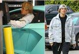 J. Bieberis pakliuvo į avariją: pasidalijo nuotraukomis iš įvykio vietos