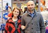 Erica Jennings ir Jurgis Didžiulis naujagimei dukrai davė neįprastą vardą