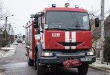 Raseinių rajone vyras benzinu apipylė savo žmoną ir ją padegė