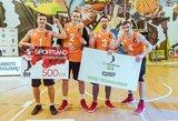 Trečiame 3X3 žiemos krepšinio etape pirmą kartą triumfavo Lietuvos komanda