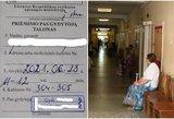 Feisbuke plinta nuotrauka dėl eilės pas gydytoją – laukti teks dvejus metus