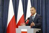 Lenkijos prezidentas paklausė tautos