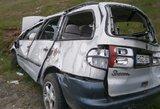 Per avariją Trakų rajone sunkiai sužeistas jaunuolis